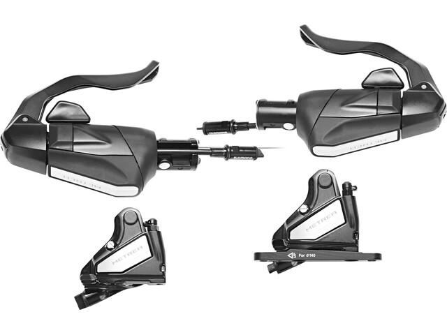 Shimano Metrea ST-U5060, BL-U5010/BR-U5000 Disc Brake Set 1x11-växlad